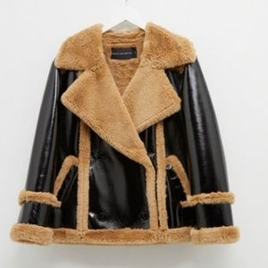 Double breasted French Connection coat